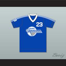 Las Vegas Quicksilvers Football Soccer Shirt Jersey Blue
