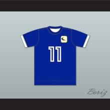 Oakland Clippers Football Soccer Shirt Jersey Blue