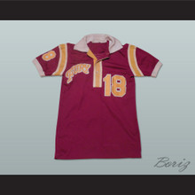 Philadelphia Fury Football Soccer Polo Shirt Jersey Maroon