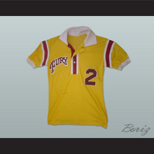 Philadelphia Fury Football Soccer Polo Shirt Jersey Yellow