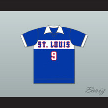 St Louis Stars Football Soccer Shirt Jersey Blue