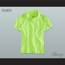 Men's Solid Color Atlantis Polo Shirt