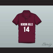 Isaac Lahey 14 Beacon Hills Cyclones Polo Shirt Teen Wolf