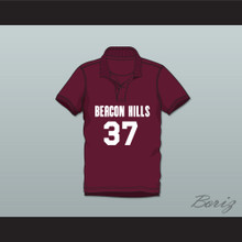 Jackson Whittemore 37 Beacon Hills Cyclones Polo Shirt Teen Wolf