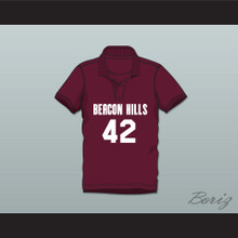 Scott Howard 42 Beacon Hills Cyclones Polo Shirt Teen Wolf