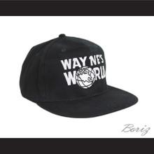 Wayne's World Hat Adjustable Black Baseball Cap