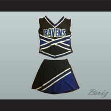 One Tree Hill Ravens Cheerleader Uniform Stitch Sewn