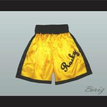 Rocky Balboa Gold Boxing Shorts