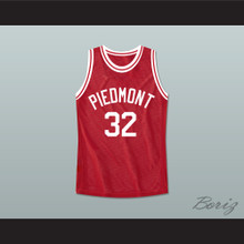 Smart Guy Marcus Henderson 32 Piedmont Penguins High School Basketball Jersey