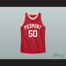 Smart Guy Morris Tibbs 50 Piedmont Penguins High School Basketball Jersey