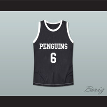Hangin' with Mr. Cooper 6 Oakbridge Penguins High School Basketball Jersey