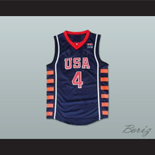 Allen Iverson 4 USA Basketball Jersey