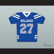 Sawyer Higgins 27 Bulldogs School Football Jersey