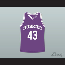 Marlon Wayans Kenny Tyler 43 Huskies Basketball Jersey The 6th Man