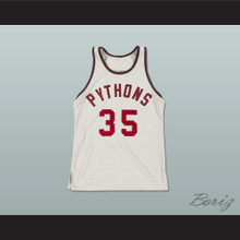Julius Erving Moses Guthrie 35 Pittsburgh Pythons Basketball Jersey The Fish That Saved Pittsburgh