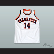 Will Smith 14 Overbrook Panthers Basketball Jersey Philadelphia