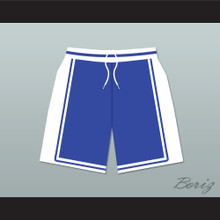 He Got Game Jesus Shuttlesworth Lincoln High School Basketball Shorts Blue