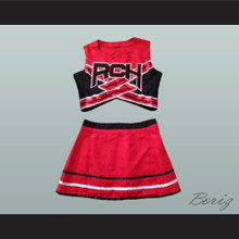 Torrance Shipman Rancho Carne High School Toros Cheerleader Uniform