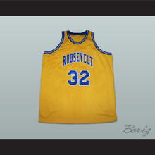 Julius Erving 32 Roosevelt High School Basketball Jersey