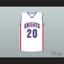 Stephen Curry 20 Charlotte Christian High School Knights Basketball Jersey