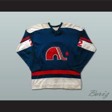 Alain Beaule Quebec Nordiques Hockey Jersey