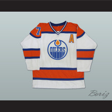 1972–73 Alberta Oilers Hockey Jersey