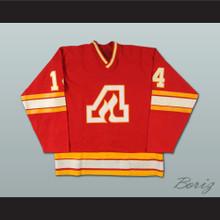 Kent Nilsson Atlanta Flames Hockey Jersey