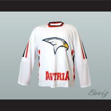 Austria National Team Hockey Jersey