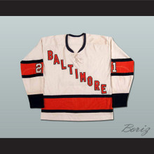 Baltimore Clippers 21 Hockey Jersey