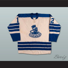 Barrie Meissner Cleveland Barons Hockey Jersey