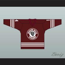 Isaac Lahey 14 Beacon Hills Cyclones Hockey Jersey Teen Wolf TV Series Maroon