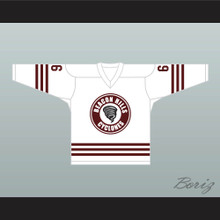 Danny Mahealani 6 Beacon Hills Cyclones Hockey Jersey Teen Wolf TV Series White