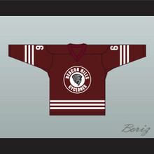 Danny Mahealani 6 Beacon Hills Cyclones Hockey Jersey Teen Wolf TV Series Maroon