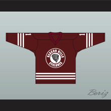 Scott McCall 11 Beacon Hills Cyclones Hockey Jersey Teen Wolf TV Series Maroon