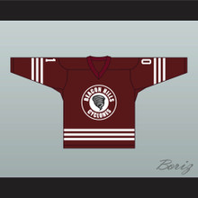 Peter Hale 01 Beacon Hills Cyclones Hockey Jersey Teen Wolf TV Maroon