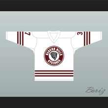 Jackson Whittemore 37 Beacon Hills Cyclones Hockey Jersey Teen Wolf TV Series White