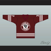 Jackson Whittemore 37 Beacon Hills Cyclones Hockey Jersey Teen Wolf TV Series Maroon