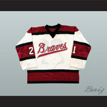 Bill Corkery Boston Braves Hockey Jersey