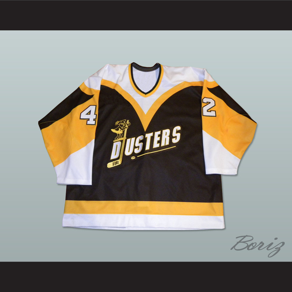 Binghamton Broome Dusters Jim O Brien 42 Hockey Jersey 5b0574c73