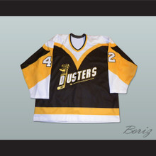 Binghamton Broome Dusters Jim O'Brien 42 Hockey Jersey