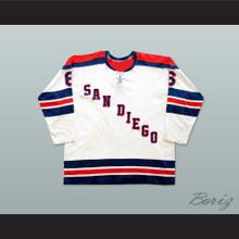 Bob Falkenberg San Diego Mariners Hockey Jersey