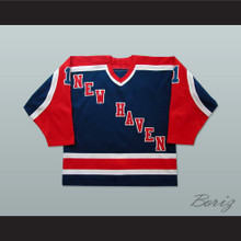 Bob Janecyk New Haven Nighthawks Hockey Jersey