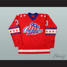 Bob Malcolm Rochester Americans Hockey Jersey