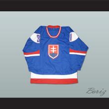 Peter Budaj Slovakia Hockey Jersey