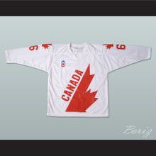 Mario Lemieux 66 Canada Cup Hockey Jersey White