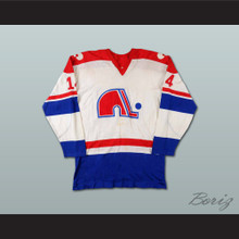 Charles Constantin Quebec Nordiques Hockey Jersey