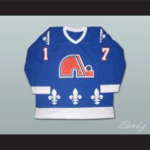 Wendel Clark 17 Retro Hockey Jersey Quebec Nordiques