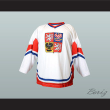 Czech Republic National Team Hockey Jersey White