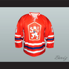 Czechoslovakia National Team Hockey Jersey Red