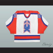 Dave Gagner AHL New Haven Nighthawks Hockey Jersey